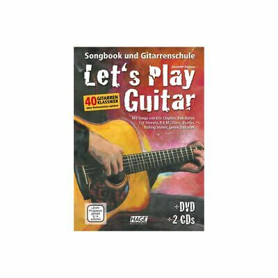 Songbook And Gitarrenschule - Let's Play Guitar With 2 Cd's