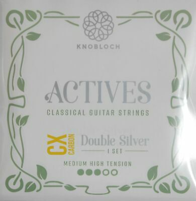 KNOBLOCH-STRINGS 400ADC Actives Double Silver Cx Carbon, Medium-High Tension