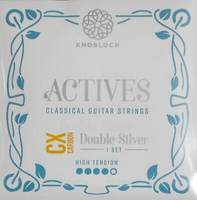 KNOBLOCH-STRINGS 500ADC Actives Double Silver Cx Carbon, High Tension