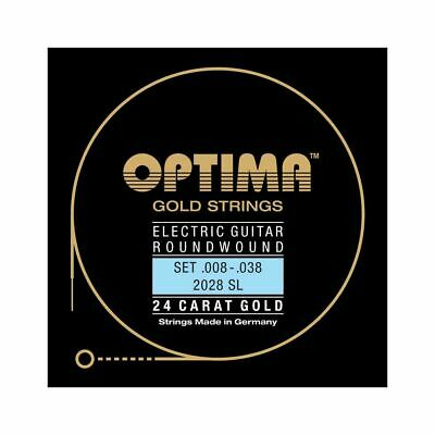 OPTIMA 2028 Sl Round Wound Set 008-038 - Super Light • 15.71£