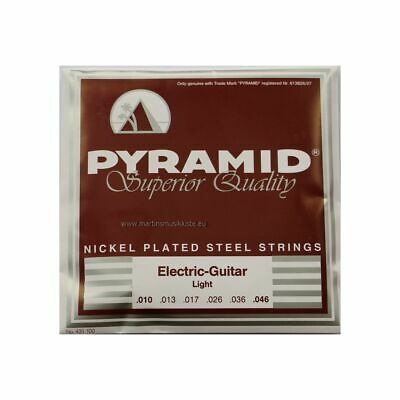 PYRAMID 10-46 Light Nps - String Set for Electric Guitar