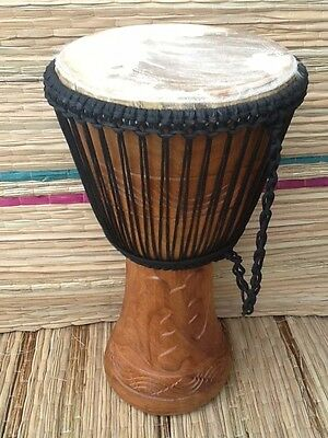 Genuine African Professional 13  Djembe Drum With 2 Free Instruments • 129£