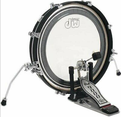 DW Design Series Maple Pancake Bass Drum - 20 Inches - Black Satin • 220.98£
