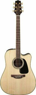 Takamine GD51CE-NAT Dreadnought Cutaway Acoustic-Electric Guitar, Natural • 397.97£