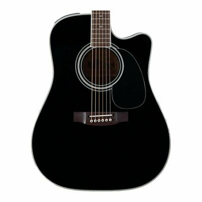 Takamine EF341SC Pro Series Dreadnought Acoustic Electric Guitar Black With Case • 1,229.90£