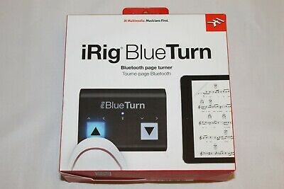 IK Multimedia IRig BlueTurn Bluetooth Page Turner For IOS & Android Devices • 54.99£