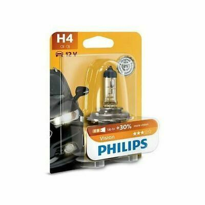 12342PRB1 PHILIPS H4 Vision Headlight Bulb Up To 30% More Bright Single • 11.50£