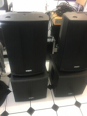 Fbt Active Speakers And Subwoofers Promaxx 112a Subline 112sa • 2,200£