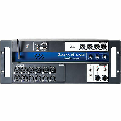 Soundcraft Ui16 Remote-Controlled Digital Mixer Ui 16 Channel Mixing Console • 344.56£