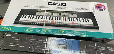 Casio LK-135Lighted Keyboard With Application  -includes Stand (CT03) • 57.77£