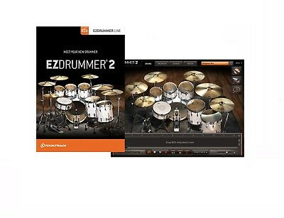 Toontrack Ezdrummer 2 Virtual Drumming Software For Pc & Mac Boxed Retail • 101.94£