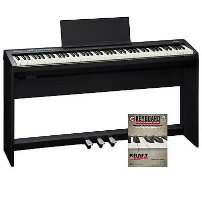Roland Fp-30 Digital Piano With Ksc70Bk Stand, Triple  BRAND NEW ITEM!!! • 987.90£