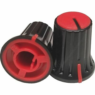 OEM Yamaha Portable PA System Black & Red Level Knob For StagePas 600BT • 5.74£