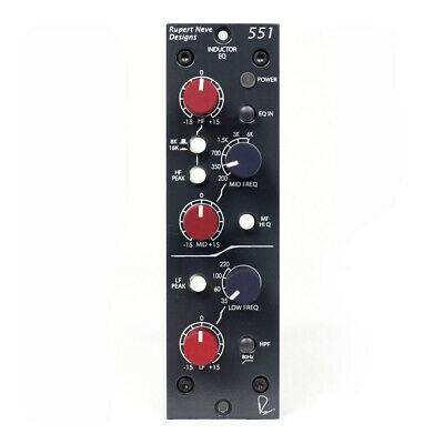 Rupert Neve Designs 551 500 Series 3-Band Inductor EQ