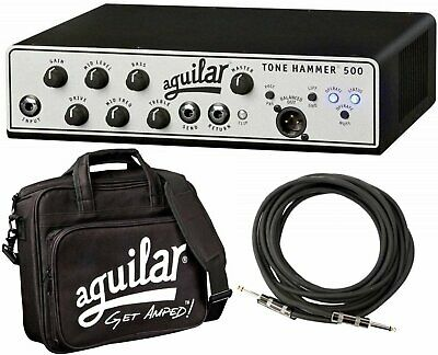 Aguilar Tone Hammer 500 Super Light 500 Watt Solid State Bass Amplifier Head... • 606.28£