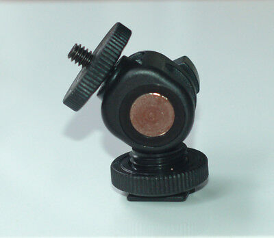 Hot Shoe Mount Adapter For Zoom H1 H1n H2n H4n Pro Tascam Dr-40 05 07 • 12£
