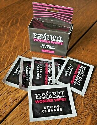 Ernie Ball Wonder Wipes String Cleaner 6-Pack Individually Wrapped • 4.80£