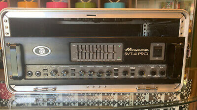 Ampeg SVT 4 Pro SVT4PRO Bass Amplifier Head Made In USA And Gator Case • 611.15£