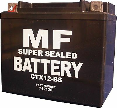 Yamaha YZF 750 SP 4HS7 CTX12-BS YTX12-BS Motorcycle Battery 1996 • 54.99£