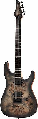 Schecter C-6 Pro E-Guitar In Charcoal Burst • 604.03£