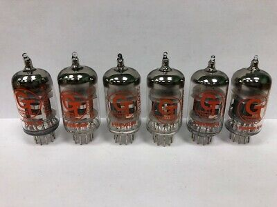 GROOVE TUBE 12AX7C Select Preamp Vacuum Tubes 1 Lot Of 6 Tubes Used & Tested • 40.44£