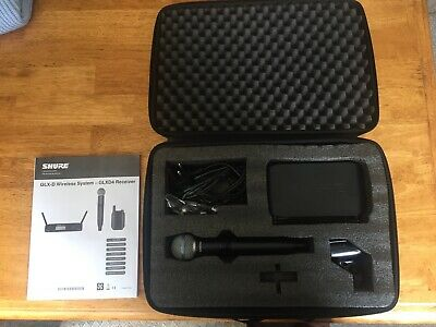 Shure GLX-D Wireless System With Shure Beta 58A Wireless Vocal Mic • 300£
