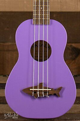 Kala Makala Shark Soprano Ukulele (Sea Urchin Purple) • 40.44£