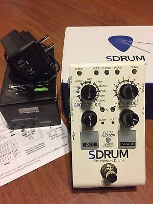 SDRUM Strummable Drums By DigiTech • 33.38£