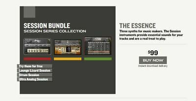 Applied Acoustic Systems AAS Session Bundle, Lounge Lizard, Ultra Analog, Strum • 16.99£