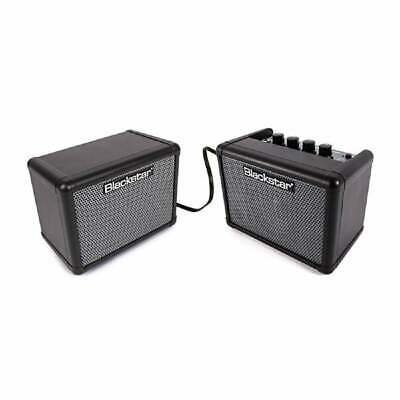 Blackstar Fly 3 3W Mini Stereo Mini Bass Amp Pack With Extension Cab & P.S.U. • 99£