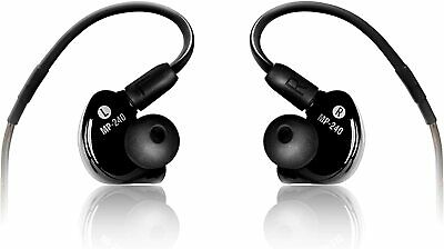 Mackie MP-240 Dual Hybrid Driver Professional In-Ear Monitors - Black • 141.51£