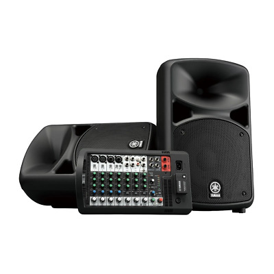Yamaha StagePas 600BT Portable PA System With Bluetooth • 725.79£