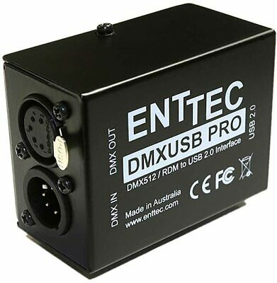 Enttec DMX USB Pro 70304 RDM Lighting Controller Interface • 119.28£