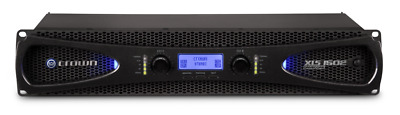 Brand New Crown XLS1502 Power Amplifier For AV, Stage And Band PA - XLS 1502 • 325£