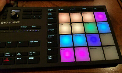 Native Instruments Maschine Mikro MK3 Drum Controller - FAST FREE SHIPPING • 158.50£