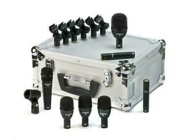 Audix Fusion FP7 7-Piece Drum Mic Package with case and clips F6,F2,F5,F9 (OPEN)