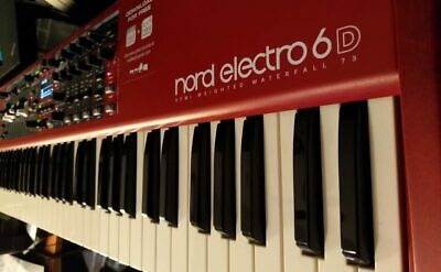 Clavia Nord Electro 6D 73 Keyboard Synthesizer Semi Weighted Waterfall 73 • 1,808.88£