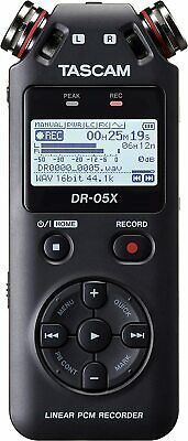 TASCAM DR-05X Recorder AUDIO Portable And Interface USB - B-Stock • 87.34£