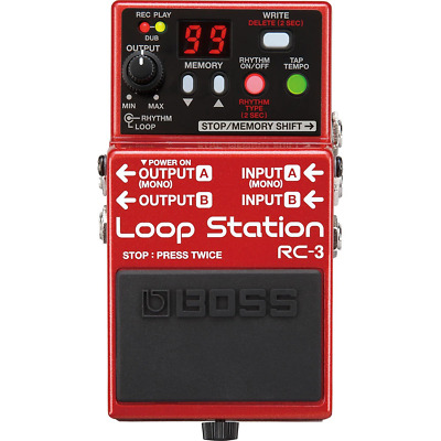 Boss Compact RC-3 Loop Station Pedal • 140.09£