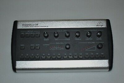 Behringer Powerplay P16-M 16-Channel Digital Personal Mixer P16 Used • 191.51£