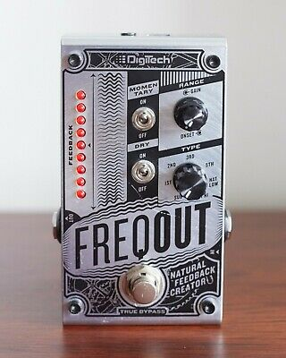 DigiTech FreqOut Natural Feedback Creator Guitar Effects Pedal. Bargain!! • 38£