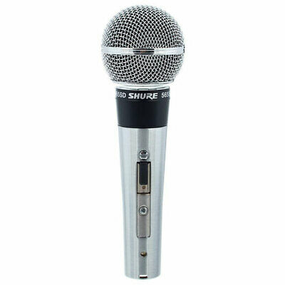 Shure 565SD-LC Cardioid Dynamic Mic, On-Off Switch • 102.98£
