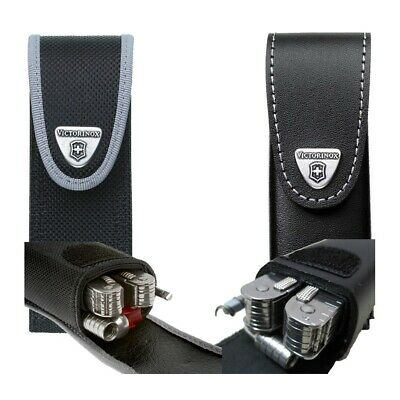 VICTORINOX Case Belt Double For Clamp Swisstool Plus Leather Or Nylon - 4.0833 • 22.14£