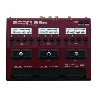 Zoom B3n Pedal Multi-Effects And Amp-Simulator For Bass • 175.90£