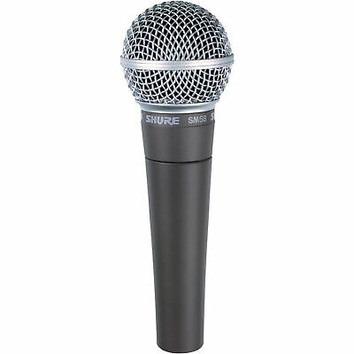 Shure SM58-LC Vocal Microphone SM 58 58LC Dynamic Cardioid Mic US48 2-DAY • 76.39£