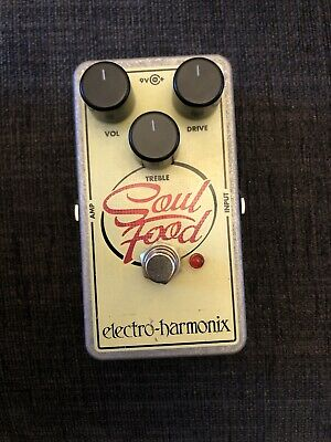 Electro Harmonix Soul Food Guitar Overdrive Pedal • 40£