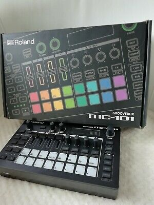 Roland Mc-101 Groovebox Mint Boxed Bought On 15th Sept Unopened Manual/batteries • 339.99£