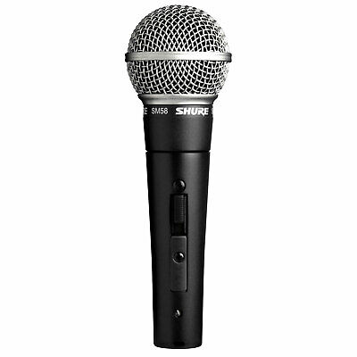 Shure SM58S Cardioid Dynamic Vocal Microphone With Switch • 75.63£