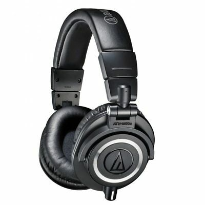 Audio-Technica ATH-M50X Professional Headset Noise Isolation Over Ear • 145.43£