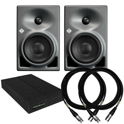 Neumann KH120A Active Studio Monitor Pair + Acoustic Pads + Cables • 1,002.87£